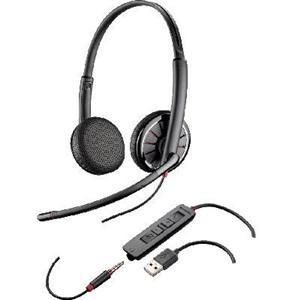 Plantronics Blackwire C325 Binaural Corded USB Headset (204446-02)