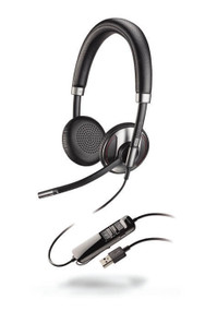 Plantronics Blackwire 725 Corded USB Headset With Active Noise Canceling (202580-01)