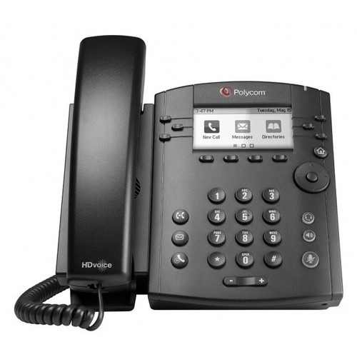 Polycom® VVX 300 IP Phone (2200-46135-025)