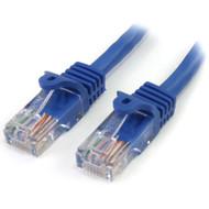 StarTech.com - Patch cable - RJ-45 (M) - RJ-45 (M) - 15.3 m - UTP - ( CAT 5e ) - blue RJ45PATCH50