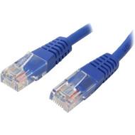 StarTech.com 1 ft Blue Molded Cat5e UTP Patch Cable M45PATCH1BL