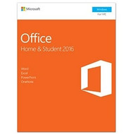 Microsoft Office 2016 Home & Student - Office Suite Box - PC - English (79G-04589)