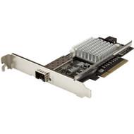StarTech.com 10G Network Card - MM/SM - 1x Single 10G SPF+ slot - Intel 82599 Chip - Gigabit Ethernet Card - Intel NIC Card PEX10000SFPI