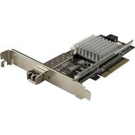 StarTech.com 10G Network Card - 1x 10G Open SFP+ Multimode LC Fiber Connector - Intel 82599 Chip - Gigabit Ethernet Card PEX10000SRI