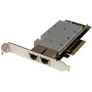 StarTech.com 10G Network Card - 2 port - NBASE-T - RJ45 Port - Intel X550 chipset - Ethernet Card - Intel NIC Card ST20000SPEXI
