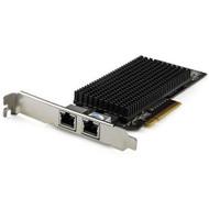 StarTech.com Dual Port 10G PCIe Network Adapter Card - Tehuti TN4010 10GBASE-T PCI Express 10GbE Multi Gigabit Ethernet 5 Speed NIC 2port ST10GSPEXNDP