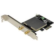 StarTech.com AC600 Wireless-AC Network Adapter - 802.11ac, PCI Express - Dual Band 2.4GHz and 5GHz Wireless Network Card PEX433WAC11
