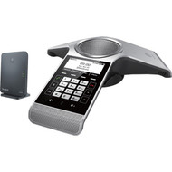 Yealink CP930W-Base IP Conference Station - Corded/Cordless - DECT, Bluetooth - Desktop - Space Silver, Classic Gray CP930W-BASE