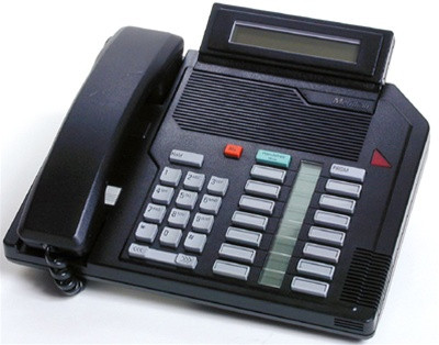Nortel / Meridian M2616 Digital Telephone HFD - Black - Refurbished (NT9K16AC-R)
