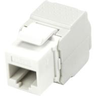 StarTech.com Cat 6 Keystone Jack White - Tool-Less C6KEY2WH