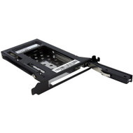 StarTech.com 2.5in SATA Removable Hard Drive Bay for PC Expansion Slot S25SLOTR