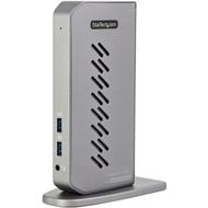 StarTech.com USB-C USB-A Dock - Hybrid Universal USB 3.0 Laptop Docking Station - Dual Monitor 4K 60Hz HDMI/DisplayPort - 6xUSB Type-A/GbE DK30A2DHU