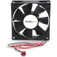 StarTech.com 80x25mm Dual Ball Bearing Computer Case Fan w/ TX3 Connector FANBOX2