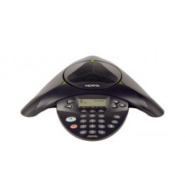 Nortel 2033 Conference Phone with Non-PoE Unit & AC Power Supply -  Refurbished