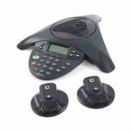 Nortel 2033 Conference Phone withPoE Moduel and 2 Mics - Refurbished (NTEX11BA70E6)