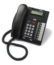 Nortel T7208 Digital Telephone Charcoal (NT8B26AABLE6)