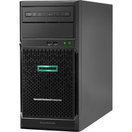 HPE ProLiant ML30 G10 4U Tower Server - 1 x Xeon E-2224 - 8 GB RAM HDD SSD - Serial ATA/600 Controller P16926-S01