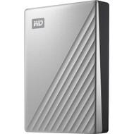 WD My Passport Ultra WDBFTM0040BSL 4 TB Portable Hard Drive - External - Silver WDBFTM0040BSL-WESN