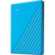 WD My Passport WDBYVG0020BBL 2 TB Portable Hard Drive - External - Blue WDBYVG0020BBL-WESN