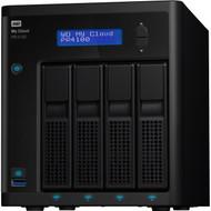 WD 16TB My Cloud PR4100 Pro Series Media Server with Transcoding, NAS - Network Attached Storage WDBNFA0160KBK-NESN