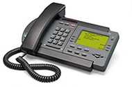 Nortel Vista 350 Analog Phone - Charcoal - Refurbished
