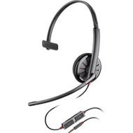Plantronics C215 Mono Wired 3.5mm Mobile Phone Headset (205203-02)