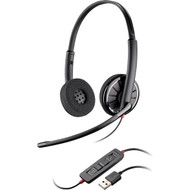 Plantronics Blackwire C320-M Wired Duo USB MS Headset - Grey (85619-101)
