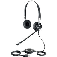Jabra Biz 2400 II USB Mono Headset (With Leatherette Cushions) (2496-829-105)