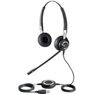 Jabra Biz 2400 II USB Mono Headset (With Leatherette Cushions) (2496-829-105)
