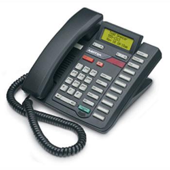 Aastra/Mitel M9316CW Phone - Black (Refurbished) (A1222-0000-02-00)
