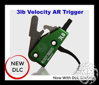 Velocity 3lb. AR Curved Trigger