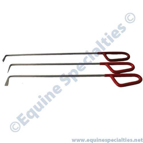 Horse Dental Red Pick Set