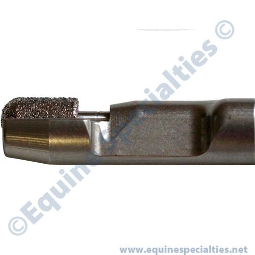 Vacuum Series ES8 for equine dental work on incisors