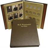 Dansco Deluxe Presidential Dollar Series P&D Album #7184