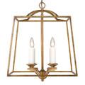 Golden Lighting 3072-4P GG Athena 4 Light Pendant in Grecian Gold (Incandescent)