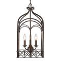 Golden Lighting 5815-3P FB Gateway 3 Light Pendant in Fired Bronze