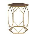 Sterling 51-010 Hexagon Frame Side Table