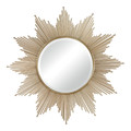 Sterling 132-011 Churchfield Metal Frame Starburst Mirror