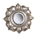 Sterling 6050468 Lotus in Bright Silver Leaf