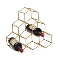 Sterling 51-026 Angular Study Hexagonal Wine Rack