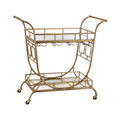 Sterling 3200-038 Mirrored Server Bar Cart