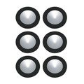 Elk WLE140C32K-0-31-6 6-Polaris LED Kit - 3W 32K 700Ma Pucklights in White (C/W 18W Driver & Harness)