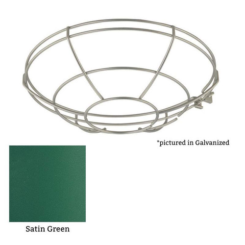 Millennium Lighting RWG12-SG R Series Wire Guard in Satin Green