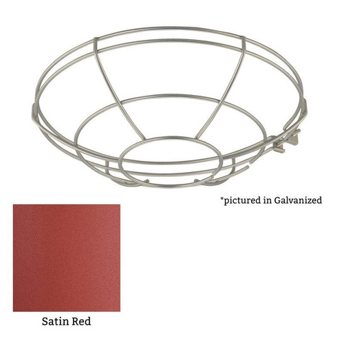 Millennium Lighting RWG12-SR R Series Wire Guard in Satin Red