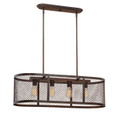 Millennium Lighting 3284-RBZ Akron Island Light in Rubbed Bronze
