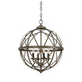 Millennium Lighting 2284-AS Lakewood Pendant in Antique Silver
