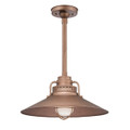 Millennium Lighting RRRS18-CP R Series Pendant in Copper