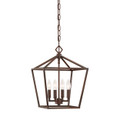 Millennium Lighting 3234-RBZ Pendant in Rubbed Bronze