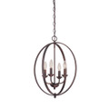 Millennium Lighting 3034-RBZ Pendant in Rubbed Bronze