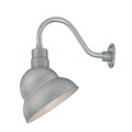 Millennium Lighting RES12-GA R Series Warehouse Emblem Shade Light in Galvanized